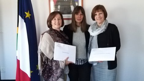Donations given to two charitable organizations